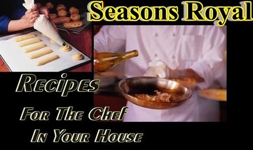 Pay for Seasons Royal Recipes