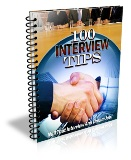 Thumbnail 100 Interview Tips