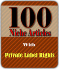 Thumbnail 100 PLR Articles