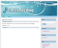 Thumbnail 12 Xmas Wordpress Themes