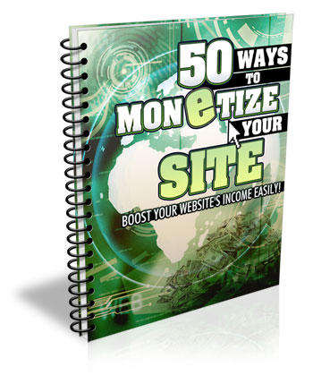 Thumbnail 50 Ways to Monetize Your Site
