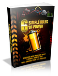 Thumbnail 6 Simple Rules Of Power  ebook