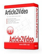 Thumbnail Article To Video Convertor