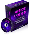 Thumbnail Article Analyzer  Software