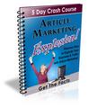Thumbnail Article Marketing Explosion - 5 Day Crash Course