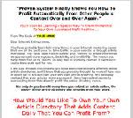 Thumbnail Automated Profit System - Powerful 10 Part Video Series