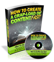 Thumbnail How To Create A Crap Load Of Content Fast