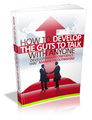 Thumbnail How to Develop the Guts to Talk with Anyone - Ebook