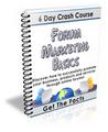 Thumbnail Forum Marketing Basics - 6 Day Crash course