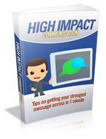 Thumbnail High Impact Communication