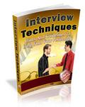 Thumbnail Interview Techniques