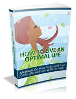 Thumbnail How to Live an Optimal Life - Ebook