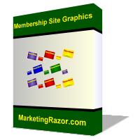 Thumbnail Membership Site Graphics Pack
