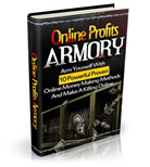 Thumbnail Online Profits Armory - ebook, report