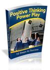 Thumbnail Positive Thinking Power Play  Ebook
