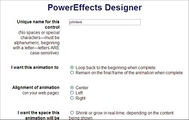 Thumbnail PowerEffects Designer - PHP