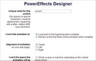 Thumbnail PowerEffects Designer - PHP