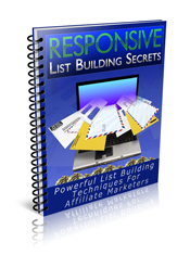 Thumbnail Responsive List Building Secrets