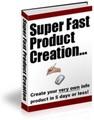 Thumbnail Super Fast Product Creation PLR