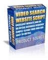 Thumbnail Video Search Site Script - Php