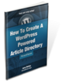Thumbnail How To Create A WordPress Powered Article Directory - Theme
