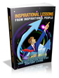 Thumbnail Inspirational Lessons From Inspirational People - Ebook