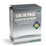 Thumbnail Login Page Generator