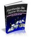 Thumbnail Membership Site Income Strategies