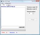 Thumbnail Mass URL Pinger
