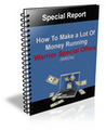 Thumbnail How To Make A Lot Money by Running WSO - Special Report