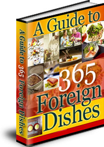 Pay for A Guide to 365 Foreign Dishes