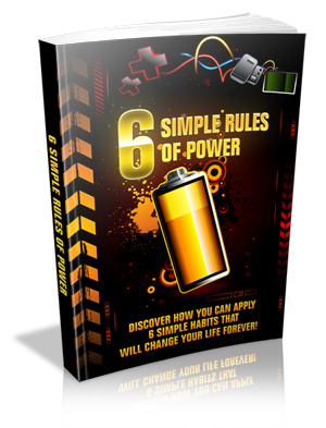 Free 6 Simple Rules Of Power  ebook Download thumbnail