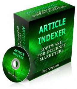 Pay for Article Indexer