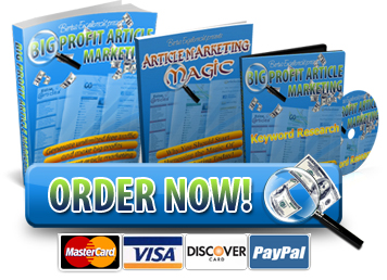 Pay for Big Profit Article Marketing - Ebooks + Video Series