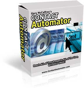 Pay for Contact Automator MMR - Reach all of your Prospects All time without Email!