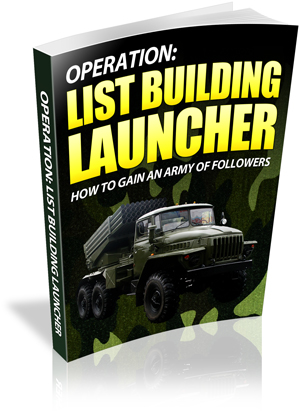 Pay for List Building Launcher