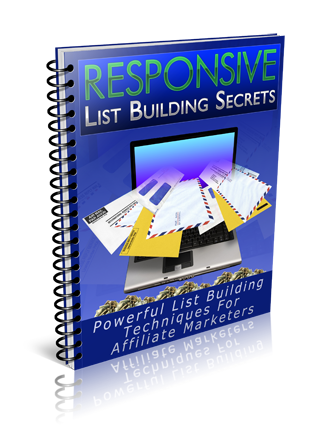 Pay for Responsive List Building Secrets