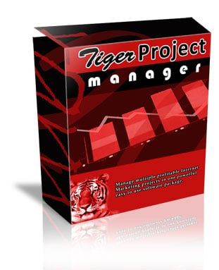 Pay for Tiger Project Manager - Manage Multiple Profitable Products With Ease!