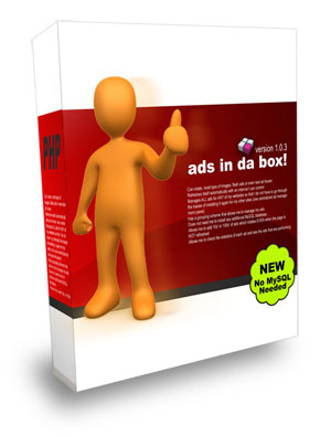 Pay for Ads In Da Box Pro - Ads/Banner Manager Php