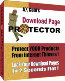 Pay for Download Page Protector - Easy Way To Protect YOUR Products From Internet Thieves!