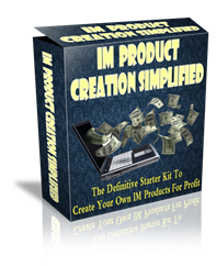 Pay for IM Product Creation Simplified