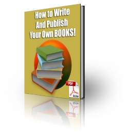 Pay for How To Write And Publish Your Own Book