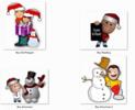 Thumbnail 25 Christmas Clipart Figures and Holiday Season Frames