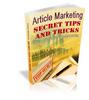 Thumbnail Article Marketing Secret Tips and Tricks (mrr)