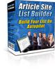 Thumbnail Article Site List Builder (MRR)