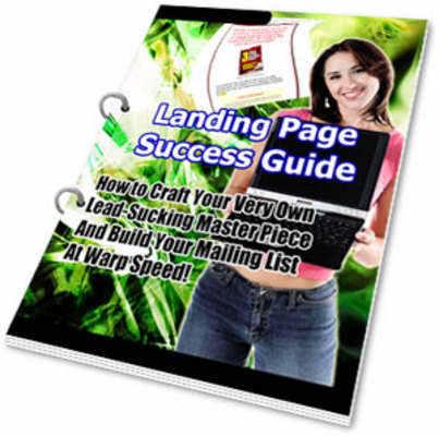 Pay for Landing Page Success Guide (PLR)