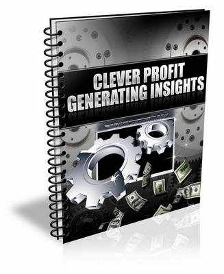Pay for Clever Profit Generating Insights (plr)