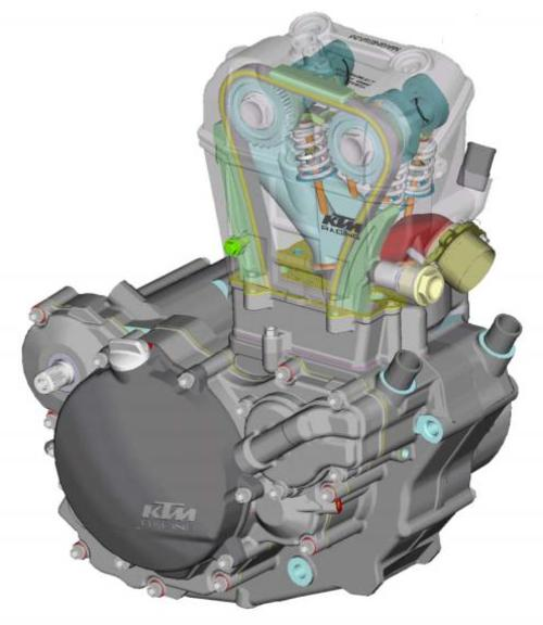 Pay for KTM 250 SXF Engine Repair Manual 2005-2008