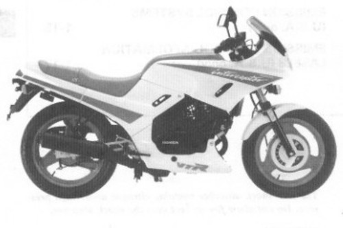Honda Vtr 250 Interceptor 1988