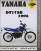 Thumbnail 1992 Yamaha DT175D Factory Service Repair Manual